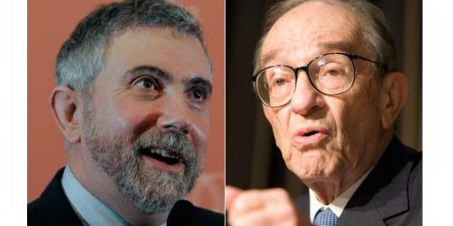 Кругман: Алан Гринспен –