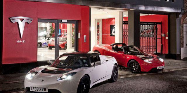 Tesla Motors открывает
