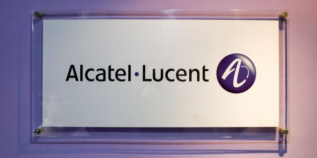 Выручка Alcatel-Lucent
