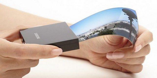 Samsung обещает гибкие