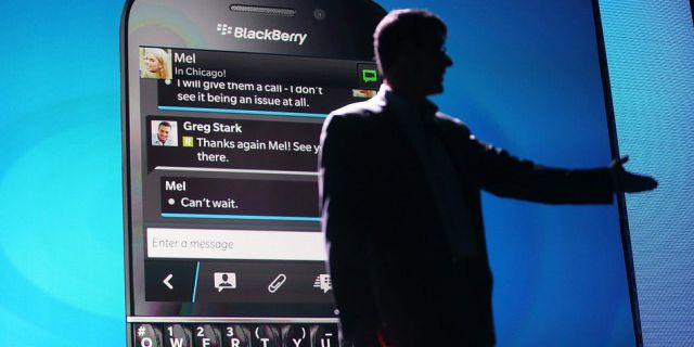 Из BlackBerry ушли