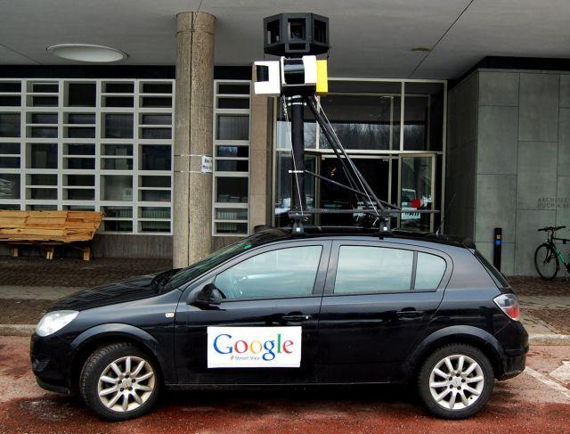 Google снимает панорамы