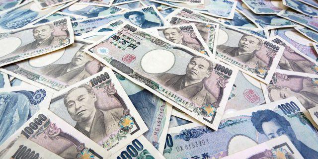 Курс иены растет третий