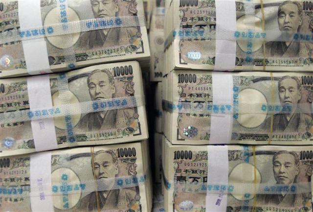 Японская иена показала