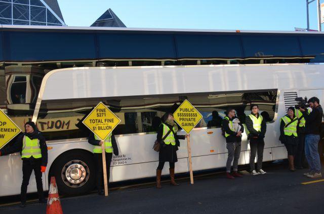 Автобусы Google мешают