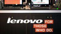 Lenovo на треть