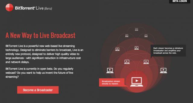 BitTorrent Live: