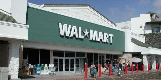 Wal-Mart зафиксировал
