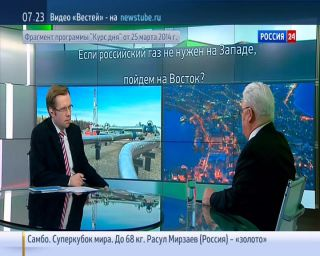 Доля российского газа на