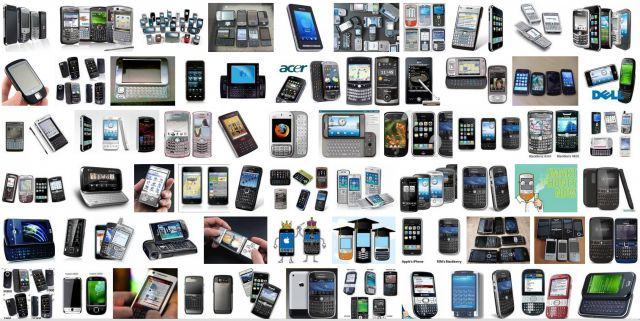 Продажи смартфонов в