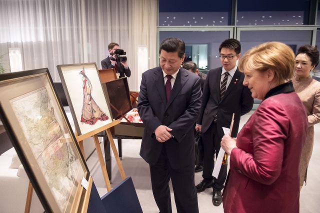 Меркель шокировала Китай