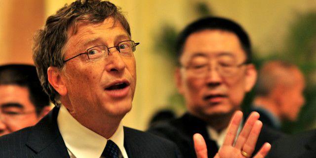 Билл Гейтс учит