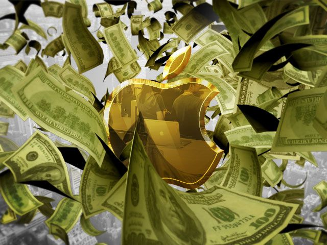 Глубокие карманы Apple:
