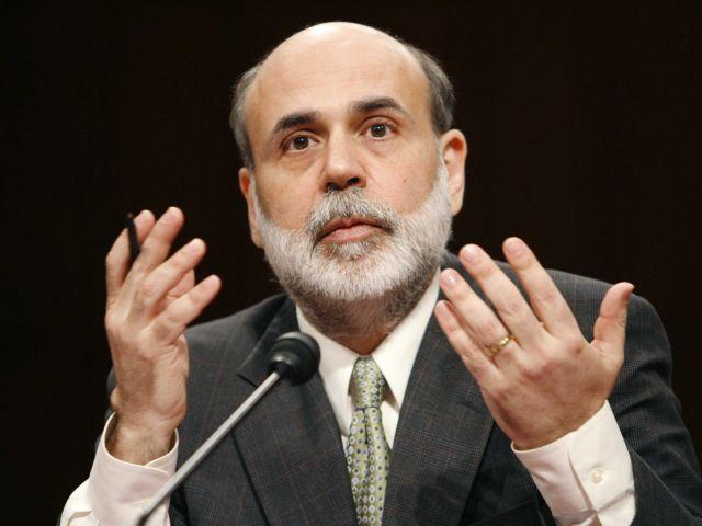 Бернанке: политику ФРС