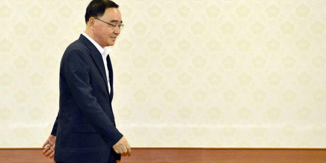 Премьер Ю. Кореи уходит