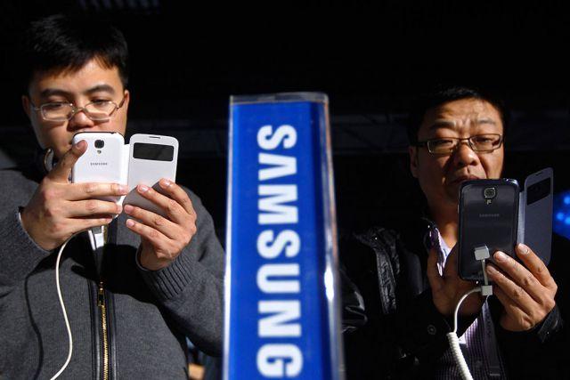Samsung сдает позиции,