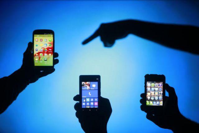 Смартфоны вытесняют