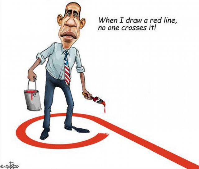 Красная линия Обамы. Что