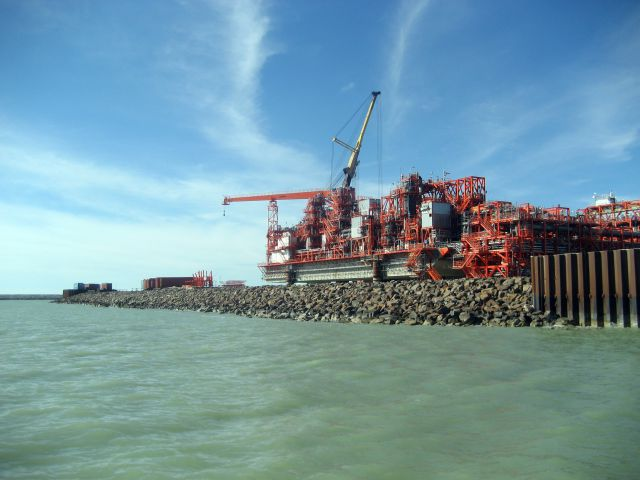 Добыча нефти на Кашагане