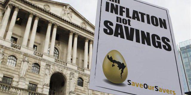 Инфляция в Британии