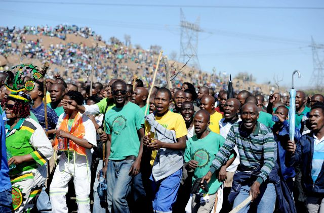 ЮАР: забастовки скоро