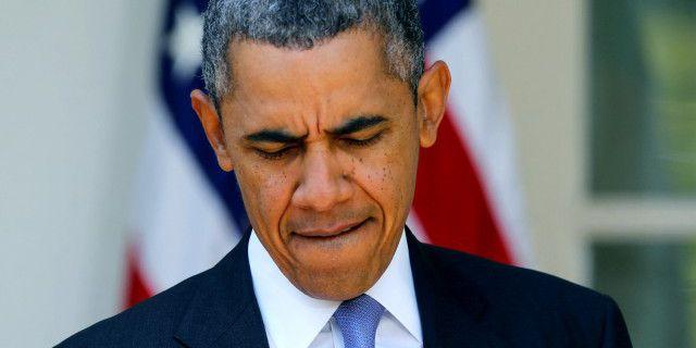Обама расстроен. Суд