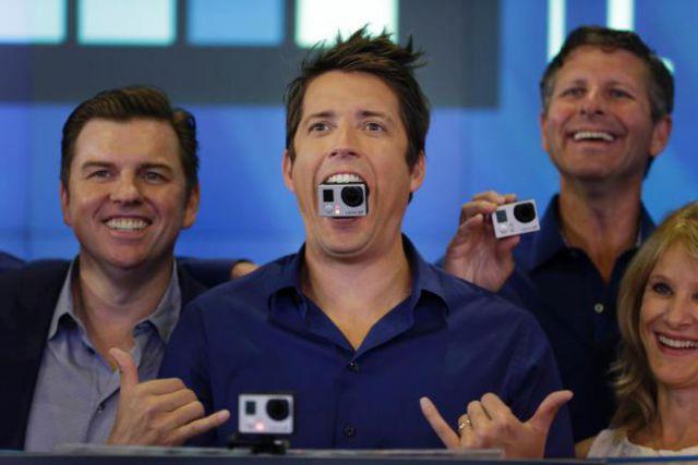 Акции GoPro в первый