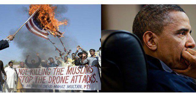 Война дронов Обамы может