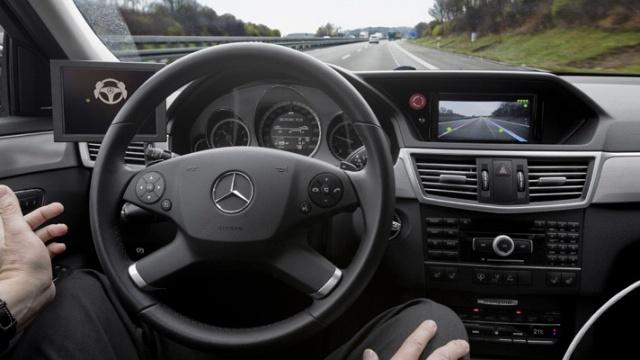 Автопилот Mercedes-Benz