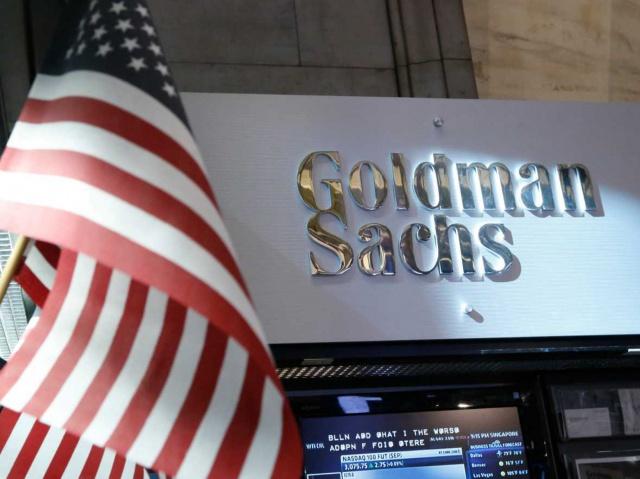 Прибыль Goldman Sachs