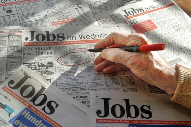 Безработица в Британии