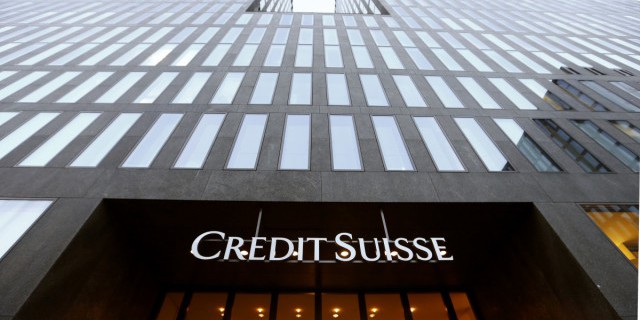 У Credit Suisse самый