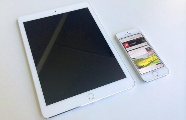 Фото новых iPhone и iPad