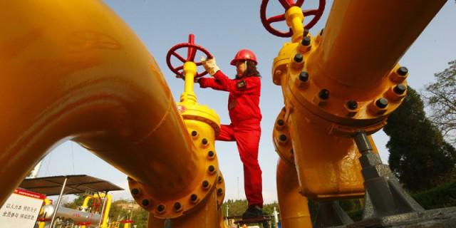 Спрос на газ в Китае