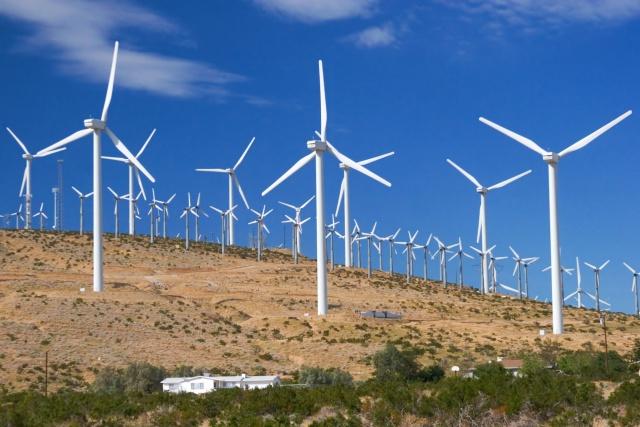 Ветряная энергетика США