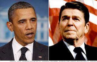 Обама vs Рейган. Все