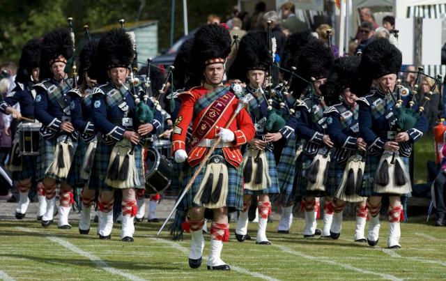 Шотландцы вдохновляют