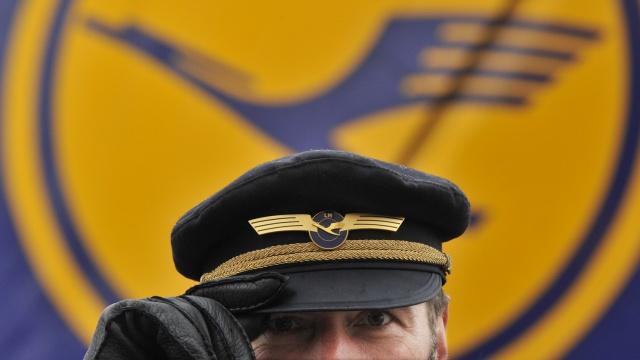 Пилоты Lufthansa