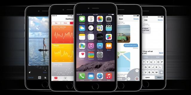 iOS8 стала доступна для
