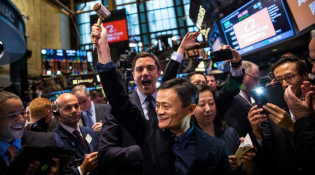 Alibaba обогнала ведущие