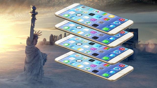 Измерить все в iPhone 6!