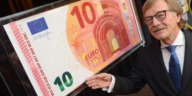 ЕЦБ ввел новую банкноту