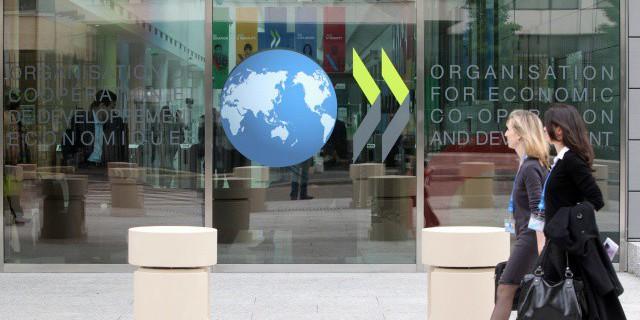 Годовая инфляция в ОЭСР