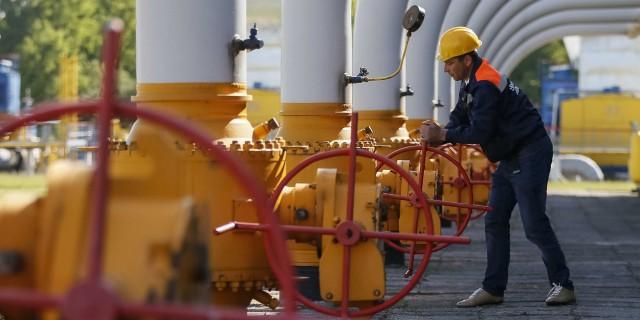 РФ: объем газа в ЕС -