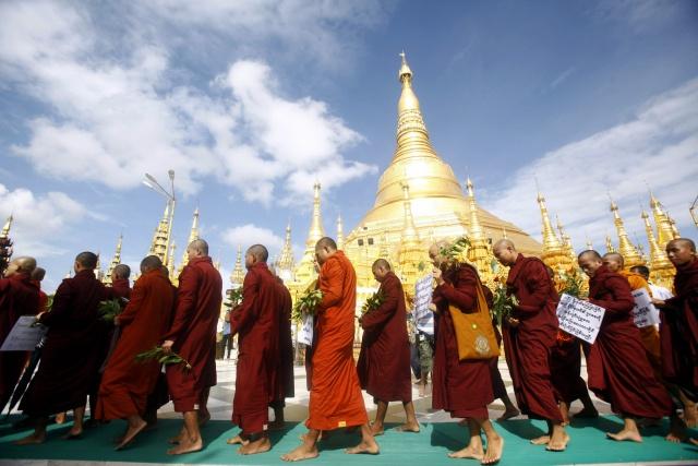 Мьянма выходит из