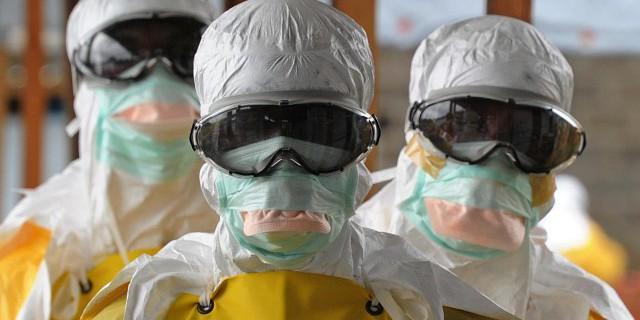 Как Эбола может