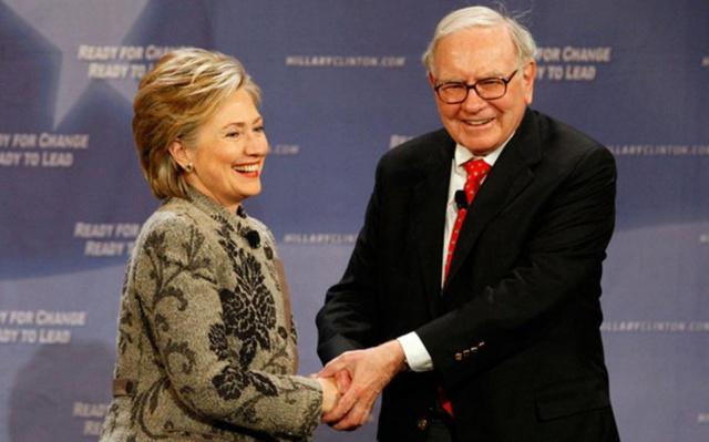 Баффетт: Клинтон станет