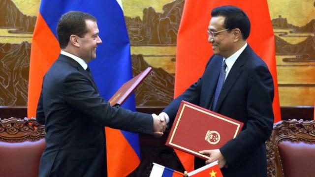 Россия и Китай займутся