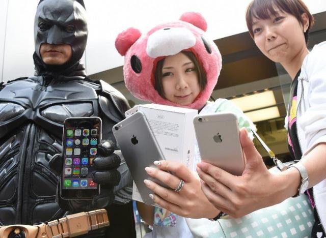 Apple покорила Китай: 20