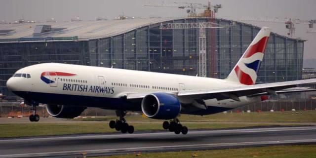 Три британских аэропорта